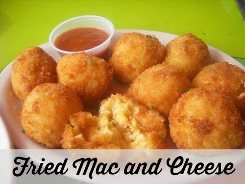 Fried Mac and Cheese Balls Recipe   Dallas Socials