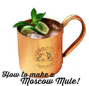 How to make a Moscow Mule! #drink #recipes