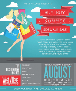 Buy BUy Summer Sale West Village