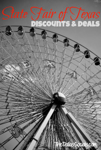 2013 State Fair of Texas Discounts and Deals #discounts #savings #dallas #texas