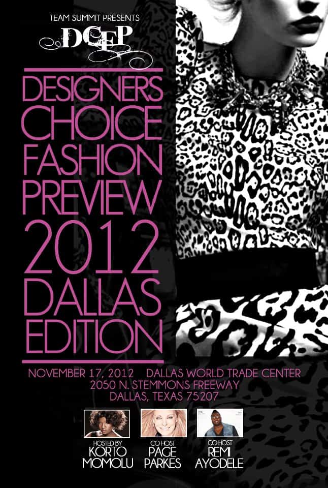Giveaway Designers Choice Fashion Preview Info Tickets