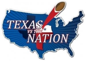 Texas vs The Nation Football