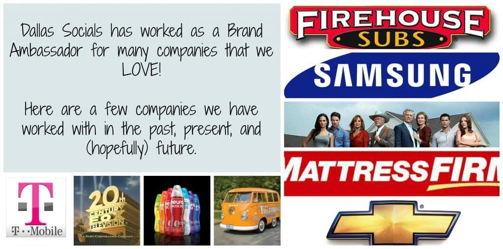 Dallas Socials Brand Ambassador