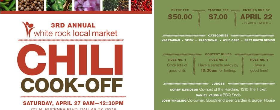 White Rock Local Market Chili Cook Off