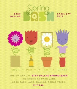 etsy dallas spring bash