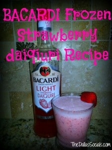 Frozen Strawberry Daiqiuri