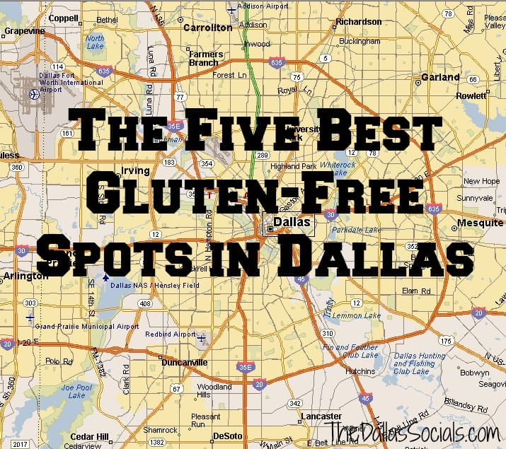 The Five Best Gluten Free Spots in Dallas #restaurants #food #glutenfree