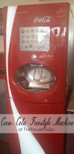 Coca Cola Freestyle Machine at Firehouse Subs offer 100+ choices!