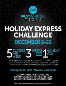 Flywheel Holiday Express Challenge