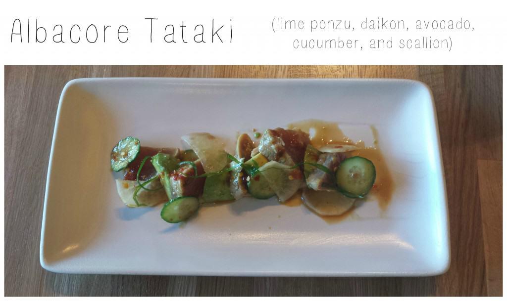 Albacore Tataki from True Food Kitchen