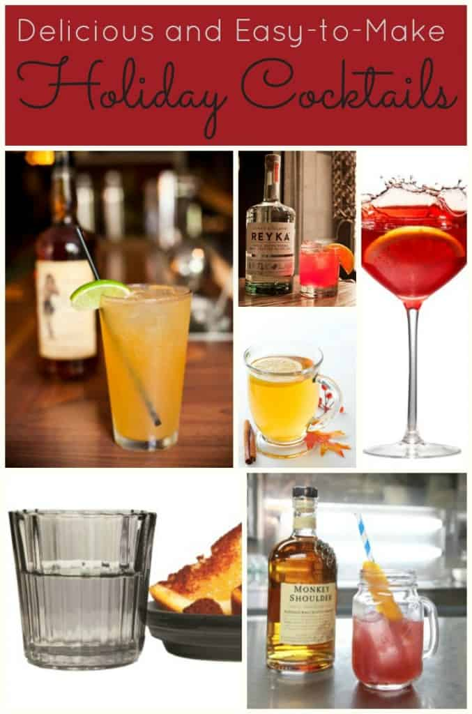 6 delicious and easy to make holiday cocktails dallas Simple holiday cocktails