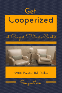 Get Cooperized at the newly renovated Cooper Fitness Center. #fitness #dallas
