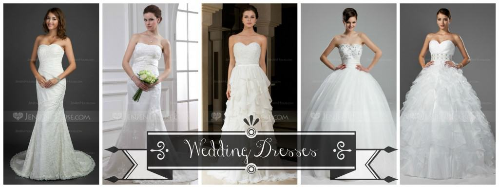 Wedding Dresses from JenJenHouse all under $350