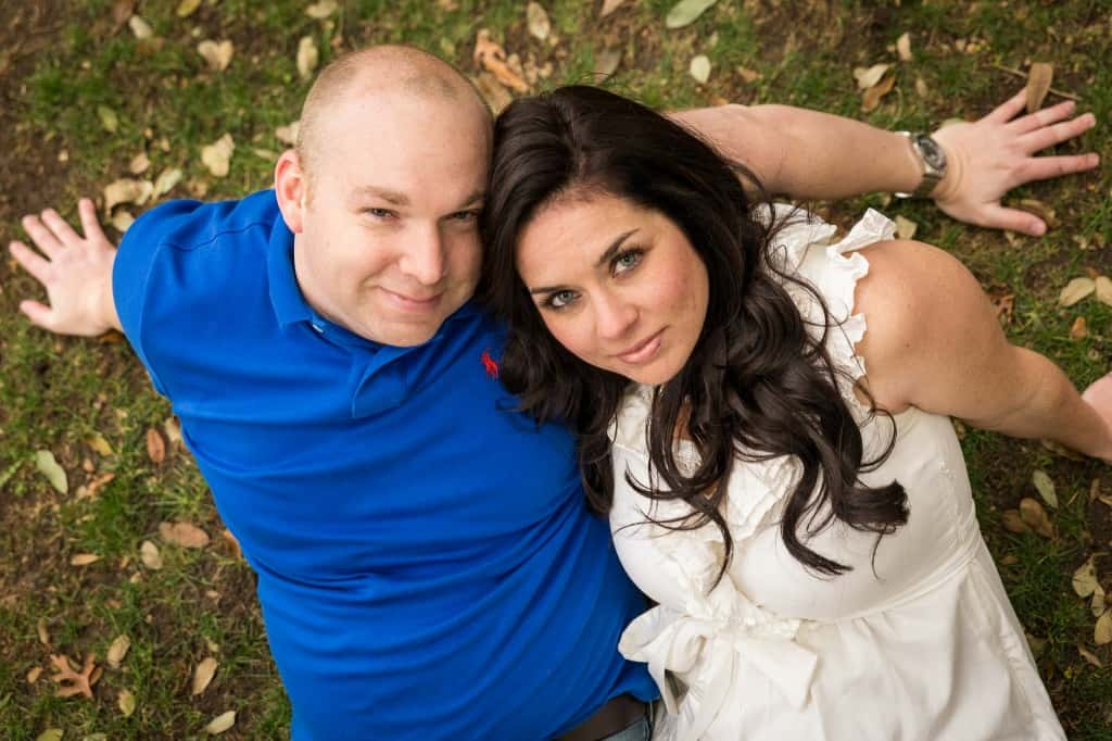 Dallas Engagement Pictures taken by Hornbuckle Creative. #smu #dallas #wedding #engagementphotos