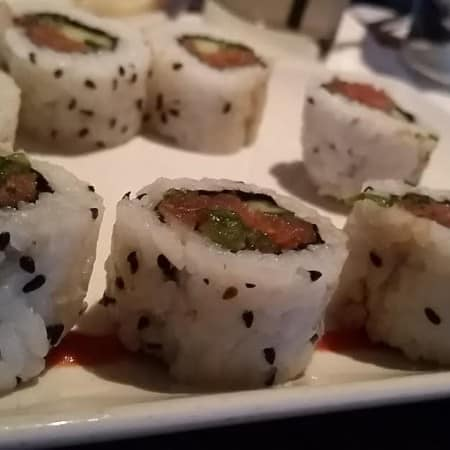 Spicy Tuna Roll at PF Changs