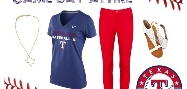 Texas Rangers Game Day Attire