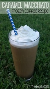 Caramel Macchiato Frozen Coffee Recipe