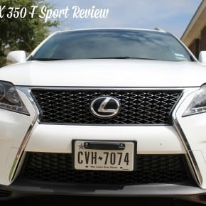 Lexus RX 350 F Sport Review