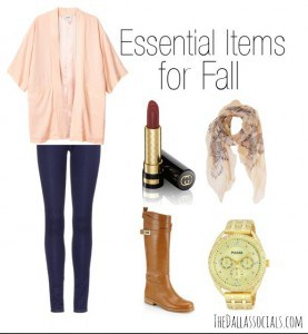 Essential Items for Fall