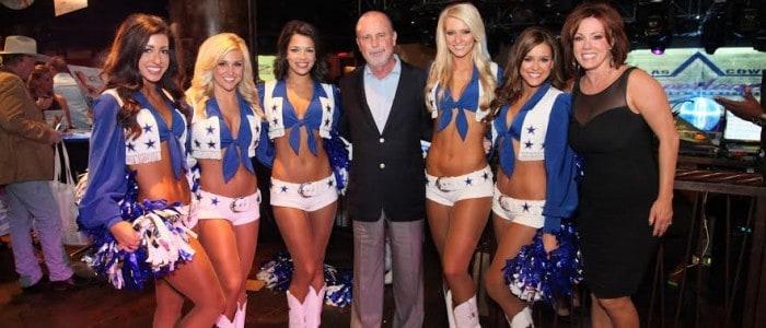 Dallas Cowboys Cheerleaders Unveil 2015 Calendar