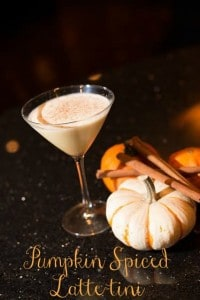 Pumpkin spiced latte-tini #cocktail #recipe #holiday #pumpkin
