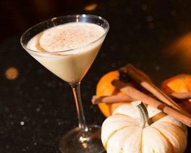 Pumpkin Spiced Latte-Tini Recipe from Del Frisco's