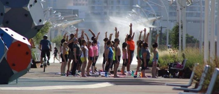 Sunstone and American Power Yoga: Changing Dallas Fitness
