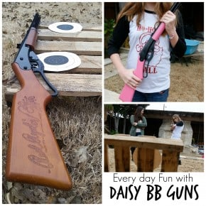 Everyday Fun with Daisy BB Guns