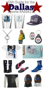 Gift Guide for the Dallas Sports Fan