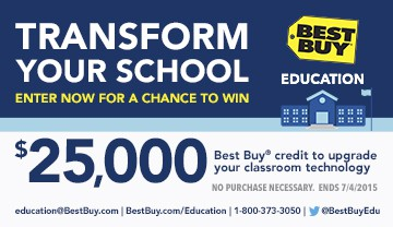 Best Buy Education is Offering Giveaway to Help Teachers and Educators