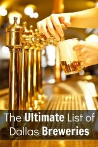 The Ultimate List of Dallas Breweries