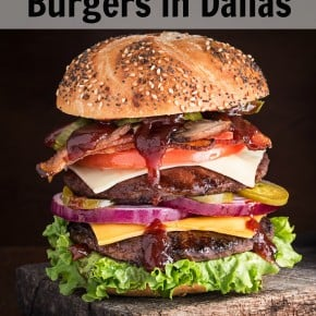 The Finest Burgers in Dallas