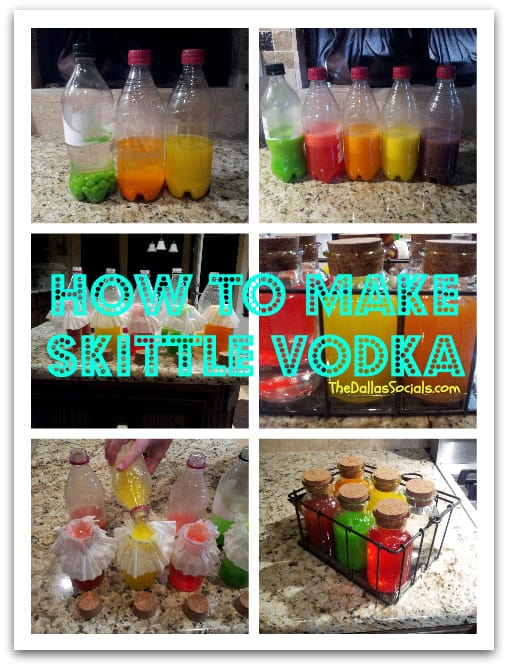 Nov 29,  · Another approach is to buy five bottles of vodka and five bags of Skittles. Then separate the candy and use one flavor for each bottle. (Or get four bottles and an empty, to allow room for the skittles.) If you want to make it more quickly, cut the skittles in half before putting them into vodka. Shake every 15 minutes%(5).