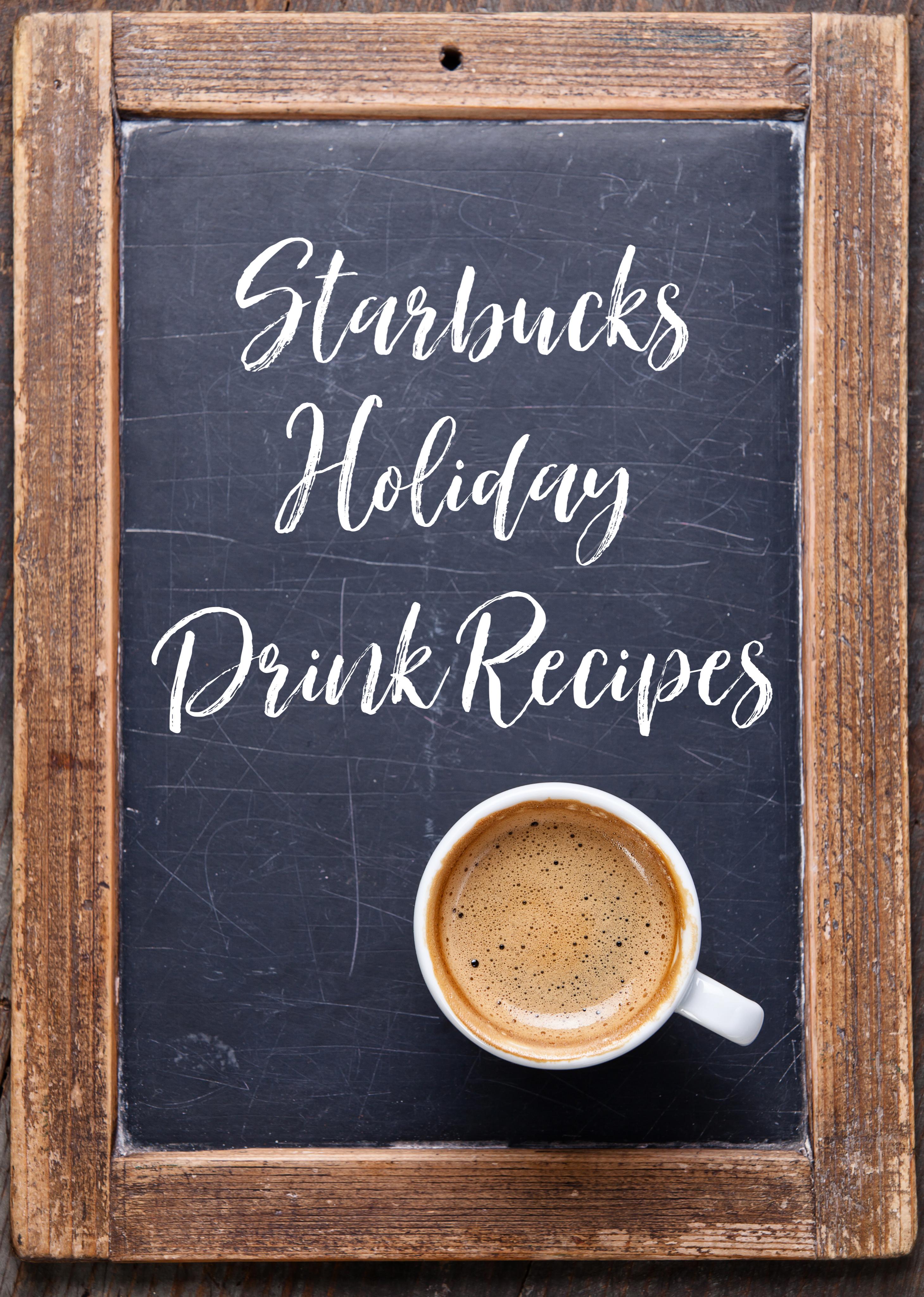 5 Diy Starbucks Holiday Drink Recipes