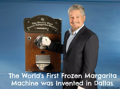 The World S First Margarita Machine Invented In Dallas By