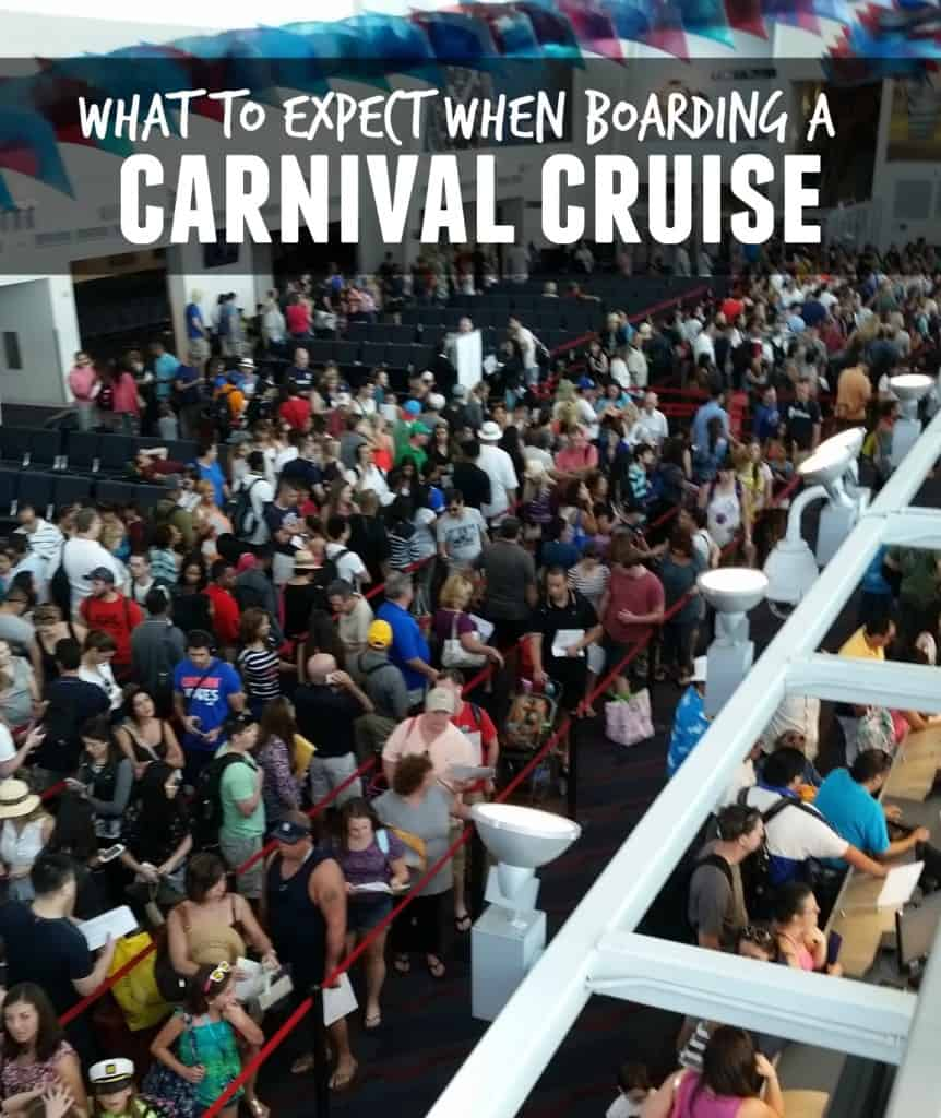 What To Expect When Boarding A Carnival Cruise Dallas