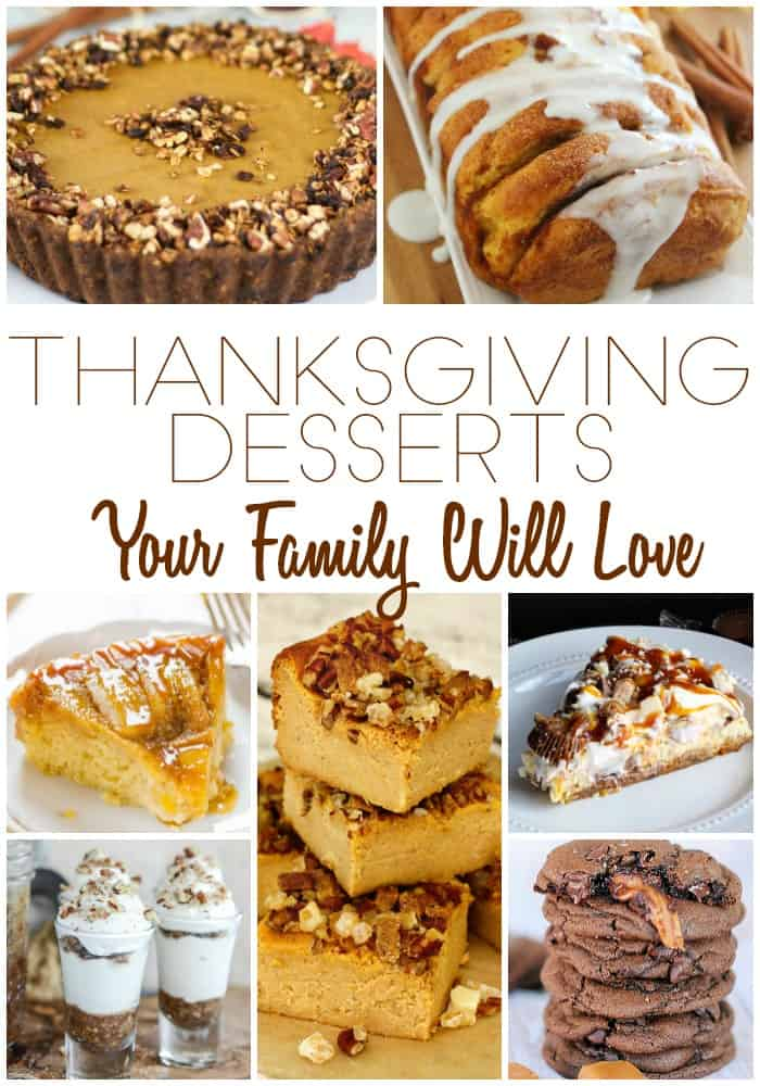Thanksgiving Desserts Your Family Will Love